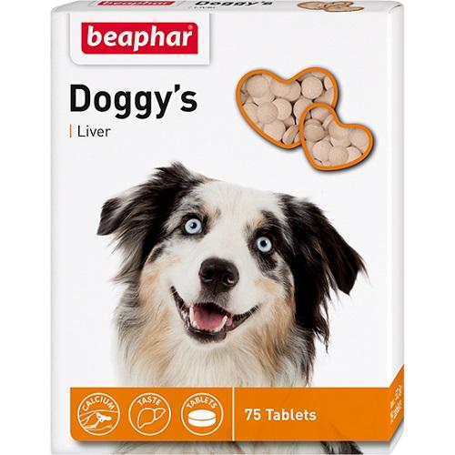 Beaphar DOGGY`S 75т витамины для собак с ливером 12504