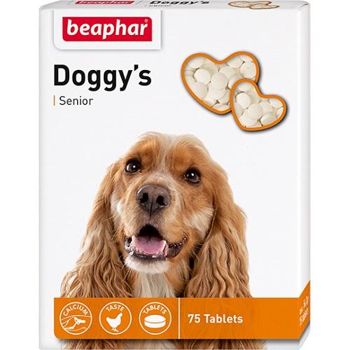 Beaphar Витамины для пожилых собак (Senior Doggy's), 75шт.