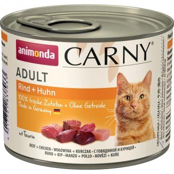 Animonda Carny Adult кон.д/кошек с Говядиной и Курицей 200г