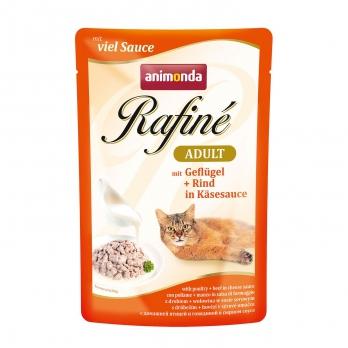 Animonda Rafinе Adult пауч д/кошек с домашней птицей в сырном соусе 100г