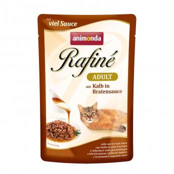 Animonda Rafinе Adult пауч д/кошек с телятиной в жареном соусе 100г