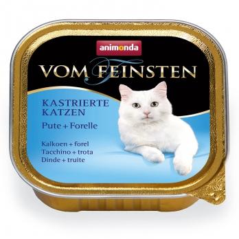 Animonda Vom Feinsten for castrated cats кон.д/кастрированных кошек с Индейкой и Форелью 100г