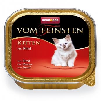 Animonda Vom Feinsten Kitten кон.д/котят с Говядиной 100г