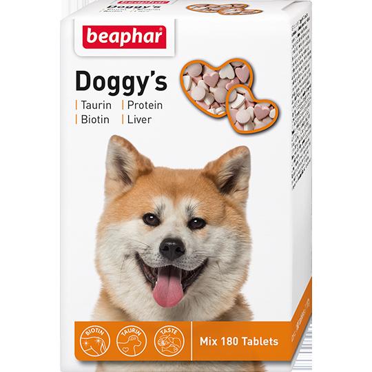 Beaphar Комплекс витаминов для собак (Doggy's Mix), 180шт.
