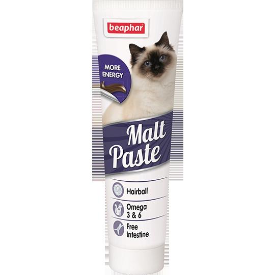 Beaphar Паста для вывода шерсти из желудочно-кишечного тракта «Malt Pastе»