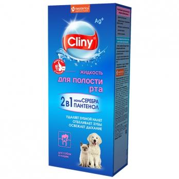 Cliny Жидкость для полости рта для собак и кошек 100мл