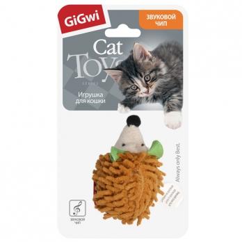GiGwi Игрушка для кошек Ёжик с электронным чипом
