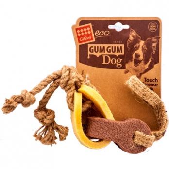 GiGwi Игрушка для средних и крупных собак Резиновая цепь из эко-резины 18см