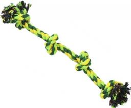 N1 Игрушка для собак Грейфер веревка плетеная с четырьмя узлами 60см