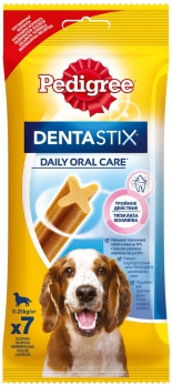 Pedigree DentaStix лакомство д/собак 10-25 кг 7 палочек 180г