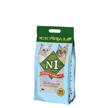 N1 Силикагелевый наполнитель (Crystals)