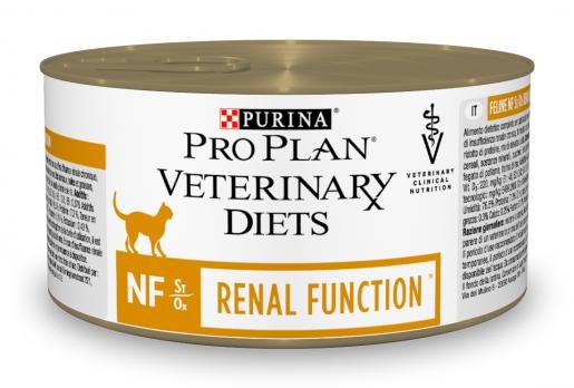 Pro Plan Veterinary diets NF консервы корм для кошек при патологии почек 195 г