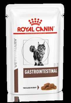 Royal Canin Gastro Intestinal (вет. консервы) кусочки в соус для кошек при лечении ЖКТ 85 г