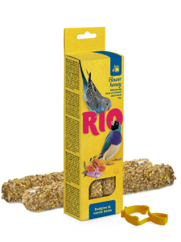 Рио Палочки для волнистых попугаев и экзотов с Медом 2шт*40г