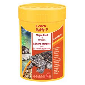 SERA Raffy P корм для водяных черепах 100мл