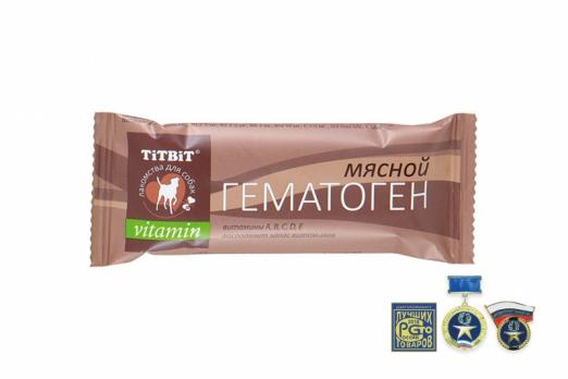 TiTBiT Гематоген мясной vitamin
