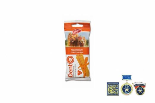 TiTBiT Жевательный снек DENT со вкусом сыра (для мелких пород)