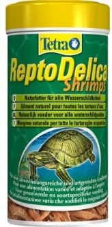 Tetra Repto Delica Shrimps креветки лакомство для водных черепах