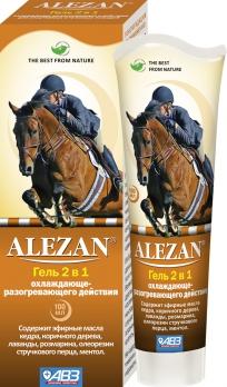 Агроветзащита Алезан Гель 2в1 для суставов: охлаждающе-разогревающий АВ725 0,1
