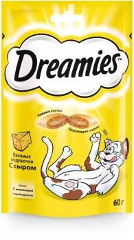 Дримис Лакомство д/кошек с сыром 60 г