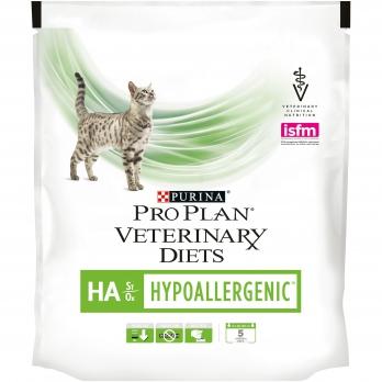 Pro Plan Veterinary diets HA корм для кошек при аллергических реакциях