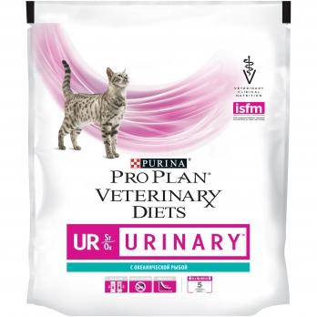 Pro Plan Veterinary diets UR корм для кошек при МКБ c океанической рыбой