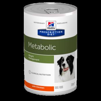 Hill's Metabolic консервированный корм для собак, для улучшения метаболизма и коррекции веса, 370 г
