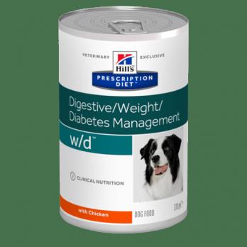 Hill's W/D консервы для собак при диабете и для поддержания веса 370г