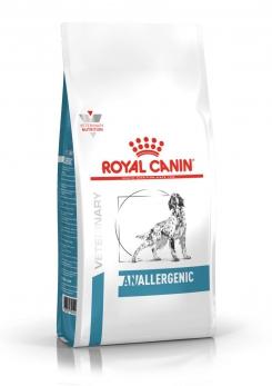 Royal Canin Anallergenic исключающая диета для собак при пищевой аллергии с острой непереносимостью 3 кг