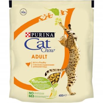 Cat Chow Adult для взрослых кошек с высоким содержанием домашней птицы