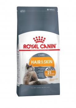 Royal Canin Hair & Skin Care для ухода за шерстью и кожей: от 1 года