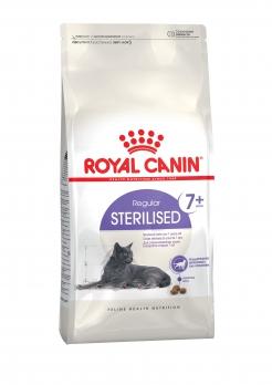 Royal Canin Sterilized +7 для пожилых кастрированных кошек (7-12 лет)
