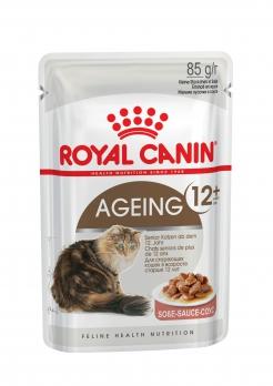 Royal Canin Ageing+12 консервы кусочки в соусе для кошек старше 12 лет 85 г