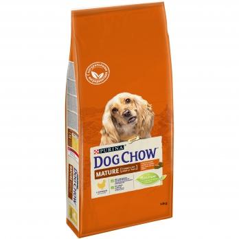 Dog Chow Adult сухой корм для взрослых собак старше 5 лет с курицей 14 кг