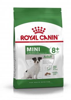 Royal Canin Mini Adult 8+ для пожилых собак малых пород: до 10 кг, старше 8 лет