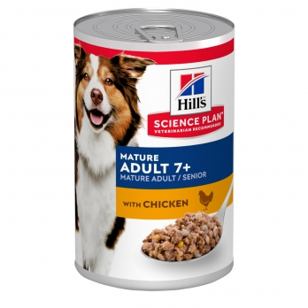 Hill's корм д/пож соб 7+ курица 370г