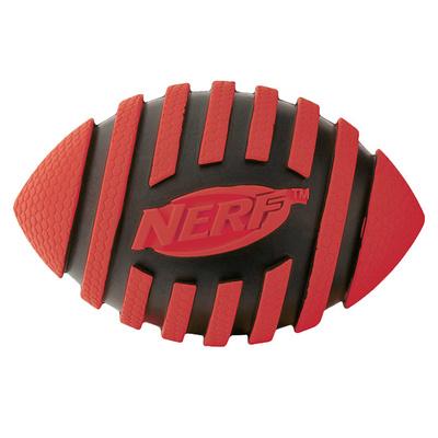NERF Мяч д/регби  пищащий 9см 22217
