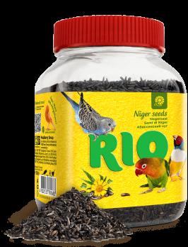 Рио Лакомство для птиц Абиссинский нуг 250г