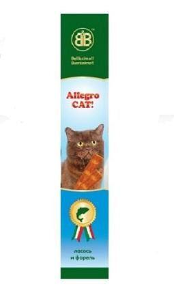 Allegro Cat колбаски для кошек, лосось и форель 5 г