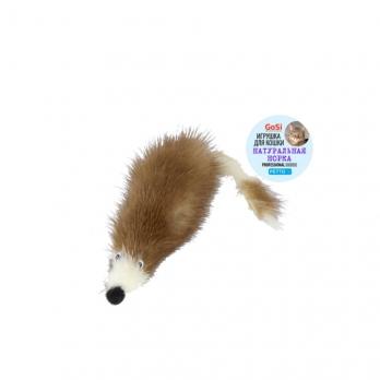 GoSi игрушка для кошек, мышь норковая М
