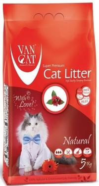 Van Cat Natural наполнитель комкующийся