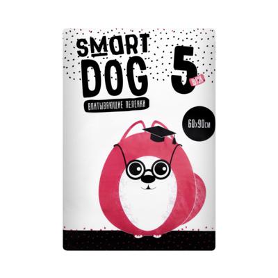 Smart Dog впитывающие пеленки для собак, 60*90