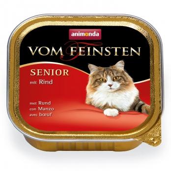 Animonda Vom Feinsten Senior кон.д/кошек старше 7 лет с Говядиной 100г