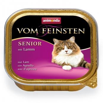 Animonda Vom Feinsten Senior кон.д/кошек старше 7 лет с Ягненком 100г