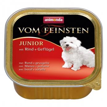 Animonda Vom Feinsten Junior кон.д/щенков и юниоров с Говядиной и мясом домашней птицы 150г
