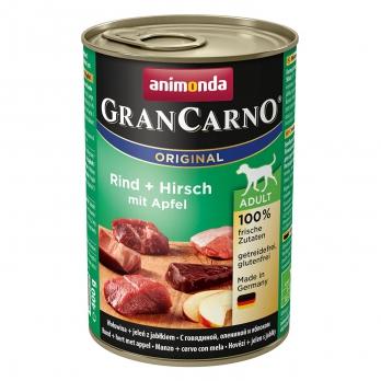 Animonda GranCarno Original Adult кон.д/собак с Говядиной, олениной и яблоком 400г