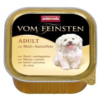 Animonda Vom Feinsten Menue кон.д/собак с Говядиной и картошкой 150г