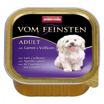 Animonda Vom Feinsten Menue кон.д/собак с Ягненком и цельными злаками 150г