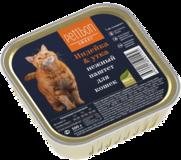 Четвероногий Гурман Petibon Smart консервы для кошек паштет Индейка и утка 100г