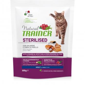 Trainer Natural Adult Sterilised сух.д/стерилизованных кошек с сыровяленой Ветчиной